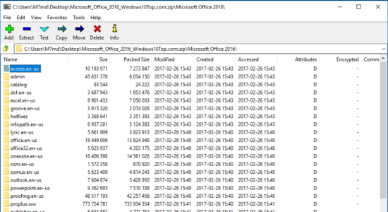 Screenshot 1 for 7-Zip