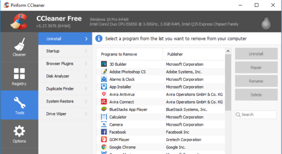 Screenshot 2 for CCleaner