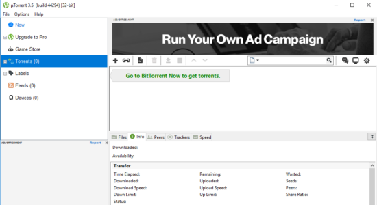 Screenshot 2 for µTorrent