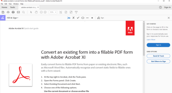 Screenshot 2 for Adobe Acrobat Reader