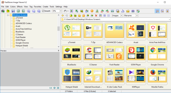 Screenshot 1 for FastStone Image Viewer