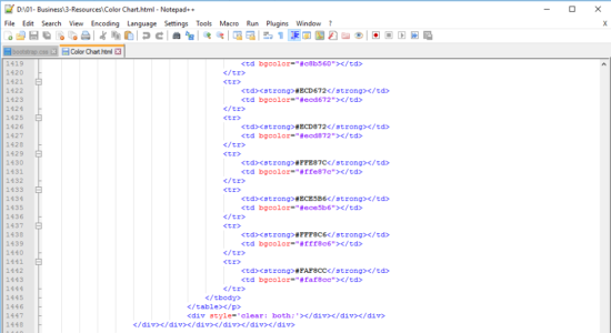 Screenshot 2 for Notepad++