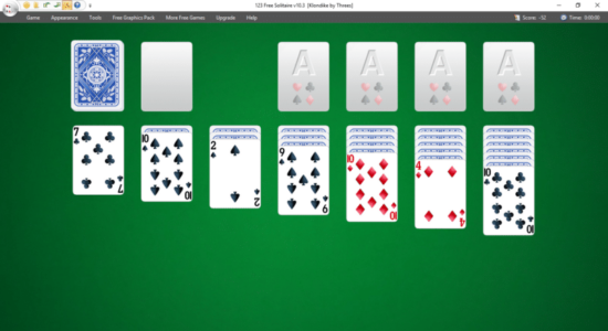 Screenshot 2 for 123 Free Solitaire