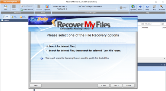 Screenshot 1 for Recover My Files