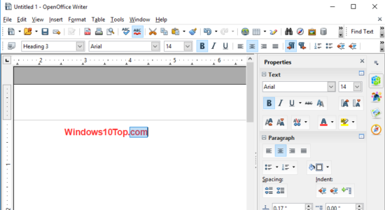 Screenshot 2 for Open Office