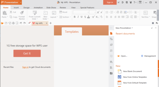 Screenshot 2 for WPS Office