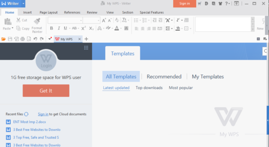 Screenshot 1 for WPS Office