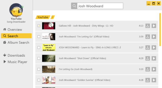 Screenshot 2 for YouTube Song Downloader