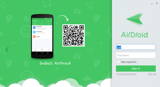 Screenshot 1 for AirDroid