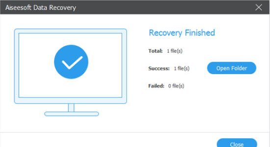 Screenshot 2 for Aiseesoft Data Recovery