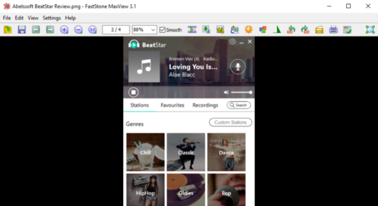 Screenshot 1 for FastStone MaxView