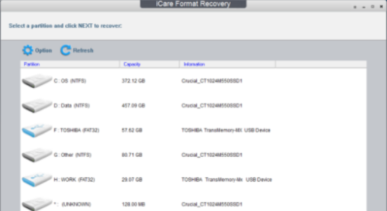 Screenshot 1 for iCare Data Recovery Free