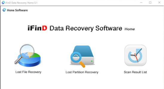 Screenshot 1 for iFind Data Recovery