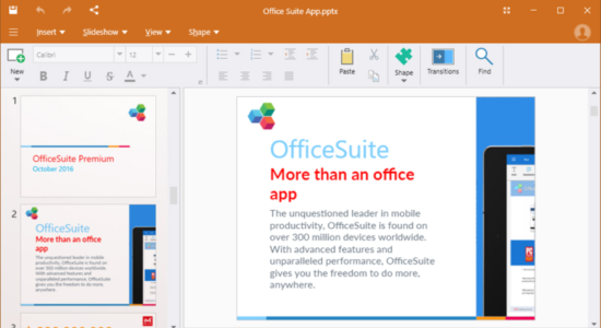 Screenshot 2 for OfficeSuitе