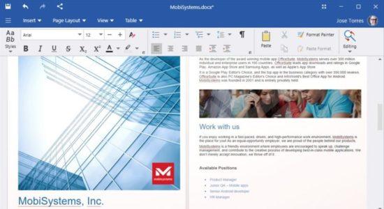 Screenshot 1 for OfficeSuitе