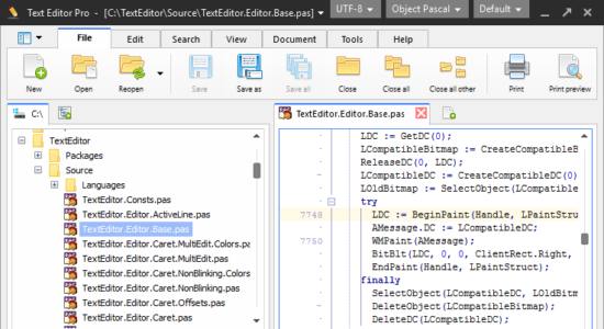 Screenshot 1 for Text Editor Pro