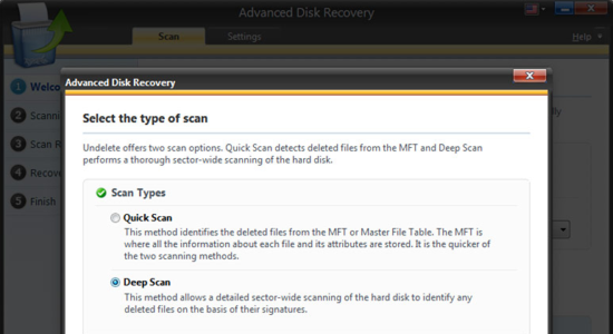Screenshot 2 for Advanced Disk Recovery