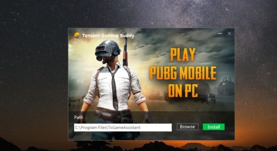 Screenshot 1 for PUBG (Tencent Gaming Buddy)