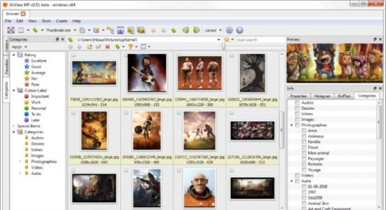 Screenshot 1 for XnView MP