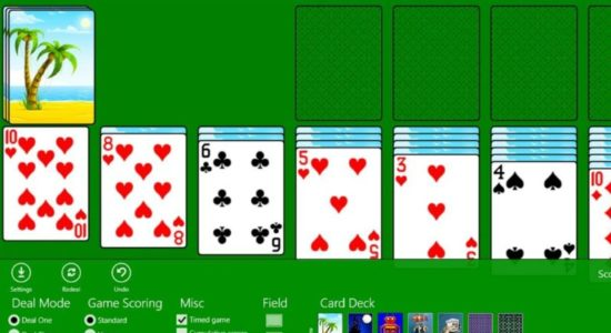 Screenshot 1 for Classic Solitaire