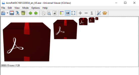 Screenshot 1 for Universal Viewer